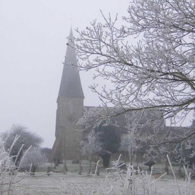 frosty church