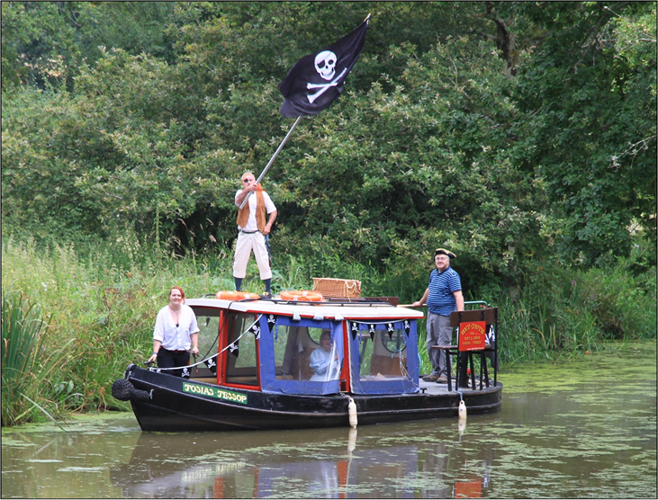 Special Cruises on the Wey & Arun Canal