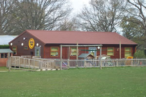 The Climbing Bears premises in the school grounds.
