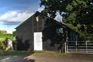The Scout Hut in Harsfold Lane